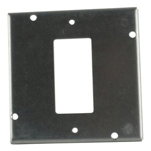 "Steel City RSL-16 4-11/16"" Square Cover, 1/2"" Raised, 1-Device"