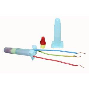 3M DBR/Y-6-BULK Red/Yellow Direct Bury Splice Kit, 18-10 AWG, Bulk (100/box)