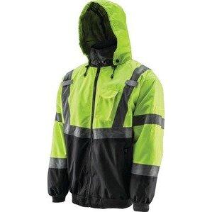 Lift Safety AVB-14HV2L Reflective Hoodie, Polyester Fleece, XXL
