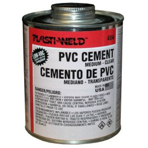 Morris Products G40424 PVC Cement - Clear, 1 Gallon