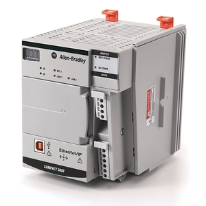 Allen-Bradley 5069-AENTR I/O Adapter Module, Compact, Ethernet/IP, 18-32 VDC, 450 mA, Open