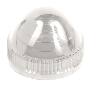9001C9 30MM PLASTIC DOMED LENS CLEAR