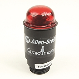 Allen-Bradley 440A-A19002 Indicator Conduit Pilot Light, M20, Bayonet Style, Red