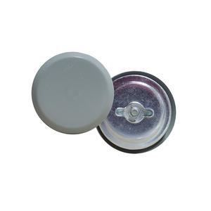 """Milbank A-HS250 Knockout Seal, Size: 2-1/2"""", Material/Finish: Steel/Gray"""