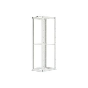 Panduit R4PCNWH 30 INCH DEEP 4 POST RACK WITH CAGE NUTS