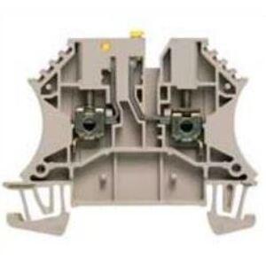 Weidmuller 1855610000 Terminal Block, Test Disconnect, 2.5mm, 20A, 600V AC/DC, Dark Beige