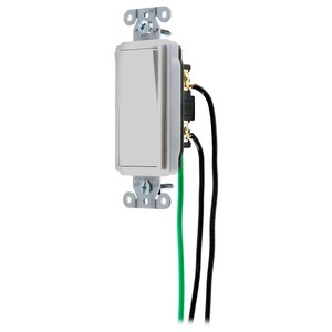 Hubbell-Wiring Kellems DSL115OW SWITCH, DECO, SP, 15A