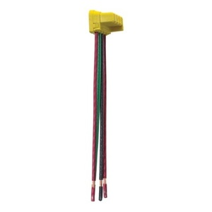 Pass & Seymour PTS6-STR4 PlugTail Connector for 3-Way Switch, 6""