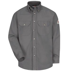 VF Imagewear SLU2GY-RG-L-EL8163-LUF-AV-214-EV4115 5 ARC RATED WORK SHIRT GREY REG LARGE 8.6CAL WESTE