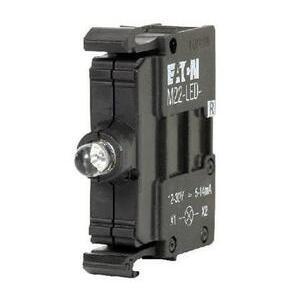 Eaton M22-LED230-B 22mm Lamp Block, Blue, LED, M22