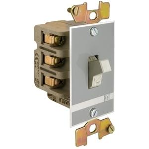 Square D 2510KO1 Switch, Toggle Manual, 30A, 2P, 3HP, 575VAC, No Indicator, Open