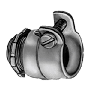 "Bridgeport Fittings 419 Flex Connector; Type: Squeeze, 3-1/2"", Malleable Iron"