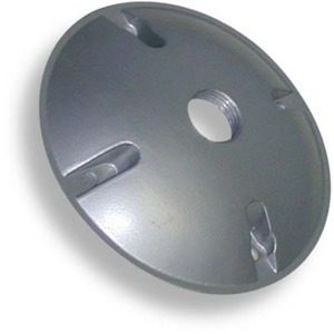 WC1 1 HOLE ROUND WEATHERPROOF COVER