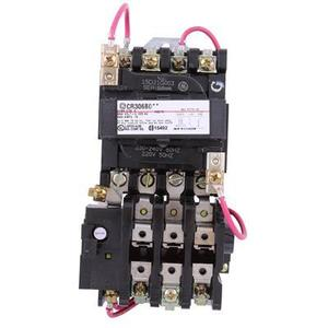 GE CR306B003 Starter, Magnetic, NEMA Size 0, 3PH, 240VAC Coil, 600VAC, 18A, Open