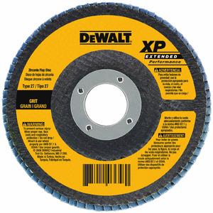 """DEWALT DW8312 4-1/2""""x5/8""""-11 Z60 T29 Flap Disc, 60 Grit"""
