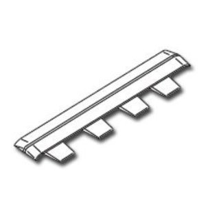 Wiremold 5406A-WH Cover Clip / 5400 Series Raceway, Non-Metallic, White