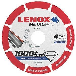 """Lenox 1972921 Cut-Off Wheel, Diameter: 4.5"""""""