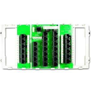 Leviton 47603-12P 12 Port Structured Media