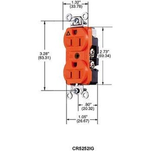 Hubbell-Wiring Kellems CR5352IG | Hubbell-Wiring Kellems ... on