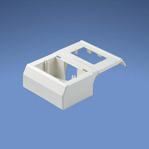 Panduit T70WCWH T-70 Workstation Outlet Center for Screw
