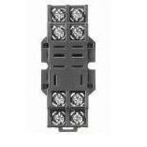 Allen-Bradley 700-HN116 Socket, 8-Blade, Miniature, Panel or DIN Rail Mount, for 700-HF