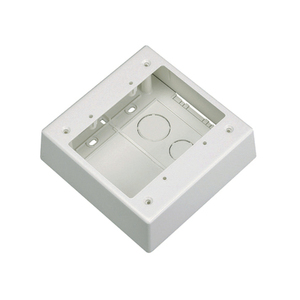 Panduit JBP2IW Double gang two-piece screw together outlet box