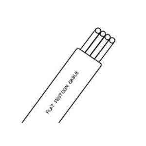 Woodhead 583000304 FLAT CABLE #12/4C PVC UL YLW
