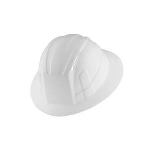 Lift Safety HVF-1WE Full Brim Hard Hat - Vantis, White