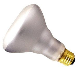 Philips Lighting 65BR/FL60-120V Incandescent Lamp, BR40, 65W, 130V, FL60