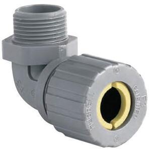 "Hubbell-Killark ZN108CR 1/2"" 90° Corrosion Resistant Nylon Cord Grip, 0.375-0.500"""