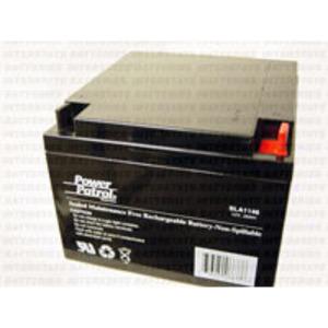 Interstate Batteries SLA1146 Sealed Lead Acid Battery, 12V, 26A