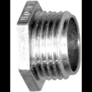 "Bridgeport Fittings 1104-DC 1"" CONDUIT NIPPLE, ZINC"