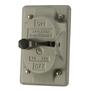 Appleton FSK-1VS-A Switch Cover, 1-Gang, Aluminum
