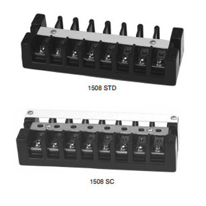 Marathon Special Products 1512STD Terminal Strip, Heavy Duty, 10 to 22 AWG, 12 Circuits, 75A, 600V