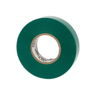 NSI Tork WW-716-5 WarriorWrap 7mil General Vinyl Electrical Tape Green