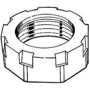 "Hubbell-Raco 1114 Conduit Bushing, 3-1/2"", Malleable Iron"