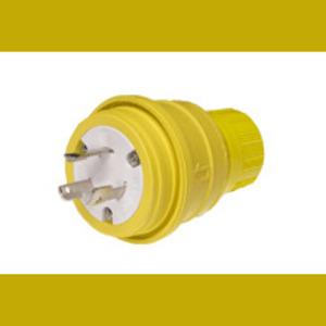 Woodhead 26W74BLK L14-20P WATERTITE PLUG