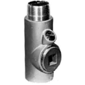 "Appleton EYM125 Conduit Seal, 1-1/4"", Male/Female, Vertical (25% Fill), Malleable"