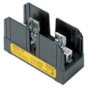 Eaton/Bussmann Series J70032-3CR Fuse Block for 14x51mm Fuses, 3-Pole, 32A, 700V, Box Lug