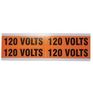 Ideal 44-353 Voltage Marker Cards, 120 Volts