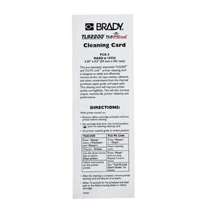 Brady PCK-5 Tls2200 Cleaning Kit