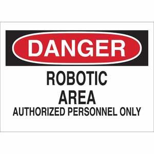 22125 MACHINE & OPERATIONAL SIGN