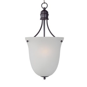Maxim Lighting 10048FTOI Pendant, 3-Light, 60W, Incandescent, Oil Rubbed Bronze