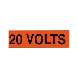 NSI Tork VM-A-5 Voltage Markers (1) 220 Volts