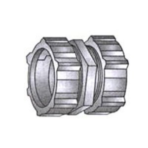 "OZ Gedney 30-350 Rigid Compression Coupling, 3-1/2"", Malleable"