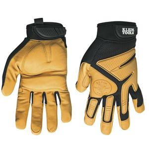 Klein 40221 Journeyman Leather Gloves, Size L