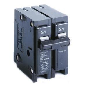 Eaton CL215 Breaker, 15A, 2P, 120/240V, 10 kAIC, Classified