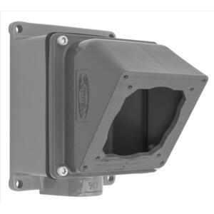 "Hubbell-Kellems FW6010055 Ps, Iec, 4way Box, 60/100a, 1 1/2"", Alu"