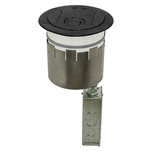 Hubbell-Wiring Kellems S1R6PTWZBLK HUB S1R6PTWZBLK S1R FRPT 6, 2X 20A,