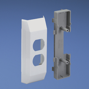 Panduit T45HEBIW T-45 Electrical Bracket and Box for 106